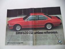 advertising Pubblicità 1979 BMW M 635 CSI
