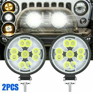 For Hummer H1 H2 H3 LED Working Lights 4WD Golf Cart IP67 63W Automobiles