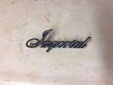 1964-66 Chrysler Imperial Badge Vintage NOS