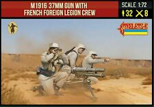 Soldatini 1/72 M1916 37MM GUN WITH FRENCH FOREIGN LEGION CREW - STRELETS 291