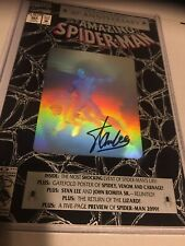Amazing Spider-Man 365 Aug 1992 Nm 9.6 - 9.8 Hologram Signed By Stan Lee