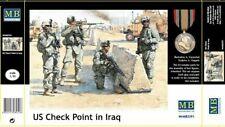 Masterbox 1:35  US Iraq Check Point