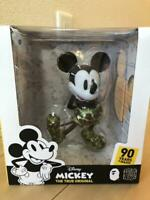 BATHING APE MICKEY 90th x BAPE VCD Figure GREEN Camo Medicom Toy Japan Rare