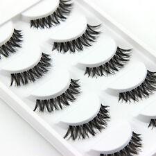 5 PAIA LUNGHI FAKE Eye Lashes FASHION alta qualità