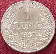 German East Africa 1 Rupee 1907 J (D1101)