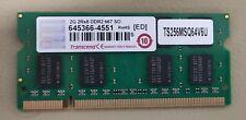 RAM 2GB DDR2 667 PC2-5300 5333 MB/s