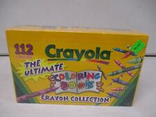 1997 Crayola The Ultimate Coloring Book Crayon Collection