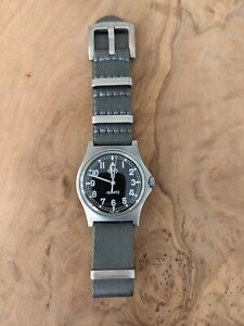 CWC G10 Military watch - W10- Royal Army issue 1998 - Very Rare year!