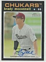 BRADY McCONNELL 2020 Topps Heritage Minors Real One Autograph #ROA-BM