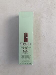Clinique Superdefense SPF 30 CC Cream 02 Light 40 ml Tagespflege Creme protekt