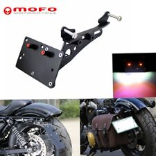 Motorcycle Rear Tail Side Mount License Plate Bracket For Harley Sportster XL883