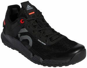 Five Ten Women's Trailcross LT Flat Shoes   Core Black/Grey Two/Solar Red   9