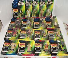 Lot of 17 1997 Star Wars POTF Freeze Frame Leia Hans Solo Obi-Wan 8D8 +13 MOC