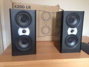 Atlantic Technology 4200 LR Loudspeakers (Pair). THX Certified.
