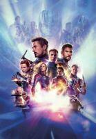 Marvel Endgame - Avenger The Fallen Superhero Wall Art Poster  / Canvas Pictures