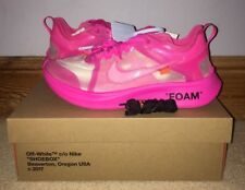 New Nike X Off White Zoom Fly Pink UK 10.5