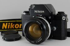 [N/Mint S/N 72xxxxx] Nikon F Photomic Ftn Black Nikkor-S 55mm f1.2 from Jp #403