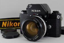 [N/MINT S/N 72xxxxx] Nikon F Photomic FTN Black Nikkor-S 55mm f1.2 from JP #403