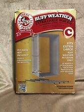 Ideal Pet Products Designer Series Ruff-Weather Wall-Kit, X-Large