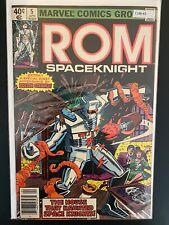 Rom Spaceknight 5 Higher Grade Marvel Comic Book CL88-45