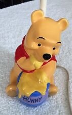 Dolly Inc Winnie The Pooh Hunny Pot Lamp Base Only WORKS GREAT