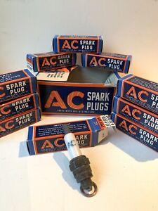 Rare Vintage AC Spark Plug Type 104 10mm Cadillac Motor Cars Automobilia Tin Can
