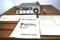 Pearce Simpson CHEETAH 23 Ch. AM/SSB Mobile CB Radio ..UNTESTED/PARTS
