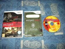 WII : SNIPER ELITE - Completo, ITA ! Diventa un cecchino! Compatibile Wii U