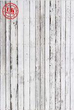 Pavimento in legno bianco sfondo carta da Parati Vinile Sfondo Foto di scena 5X7FT 150x220CM