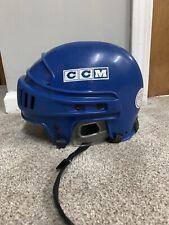 Ccm 652 Blue Hockey Helmet Size M-L