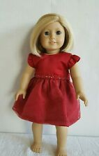 American Girl KIT with Dress Retired Good Condition Ship Fast with Tracking Numb