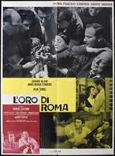 CINEMA-soggettone L'ORO DI ROMA carlo lizzani