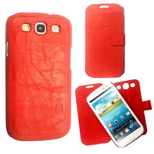 2X PU Leather Case Cover For Samsung S3/S4 Note2 Apple iPhone 4/5 BlackBerry Z10