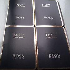 Hugo Boss Nuit Pour Femme 4 X 2 Ml Eau De Parfum Frasquitos Nuevo