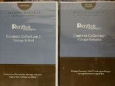Creative Memories NEW Storybook Creator Plus CD Software Vintage Romance & Mod