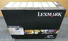 LEXMARK ORIGINALI extra alta capacità cartuccia nero X644X11E X644 X646-SIGILLATO
