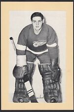 1945-1964 Beehive Group II 2 Terry Sawchuk No Blade Detroit Red Wings High Grade