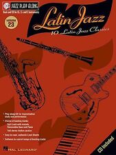 Jazz Play Along Latin Clarinet Sax Saxophone Flute Woodwind Music Book & CD