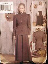 SEWING PATTERN Butterick 3836 OLD WEST WESTERN ANNIE OAKLEY Sz 12-16 / 34-38