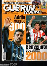 GUERIN SPORTIVO=N°51/52 1999=OLIMPIA MILANO=BAGGIO ADDIO=HERRERA LIPPI=NO POSTER
