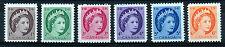 CANADA 1954-1962 DEFINITIVES SG463/468 BLOCKS OF 4 MNH
