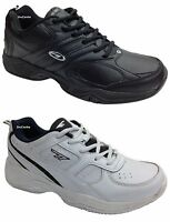 Mens Hi-Tec Argon Coated Leather Casual Gym Sports Light Trainers Size 6-16 UK