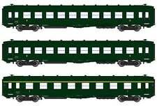 REE MODELES VB-139 - SET 3 CARROZZE CORTE DEV AO U52 U53 - SNCF Ep. IIIb - H0