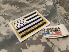 SNAKE PATCH - COMMANDOS MARINE BRETAGNE - FORCES SPECIALES FRANCE COS FUSCO