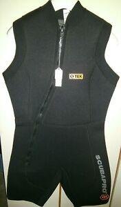 WetSuit Womens Size XL Shorty Sleeveless 3/5 mm Scubapro Scuba Snorkel Triathlon