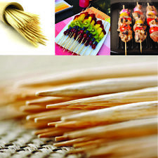 150 BAMBOO BBQ SKEWERS WOODEN WOOD FRUIT KEBAB FOUNTAIN LARGE STICKS