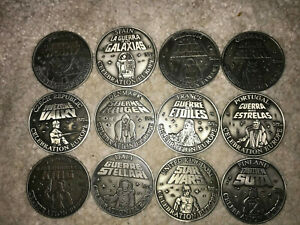 Star Wars Celebration Europe 2007 medallion set COMPLETE