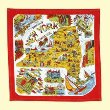 Vtg Style NEW YORK NY Souvenir Flour Sack Kitchen Dish Tea Towel Big Apple City
