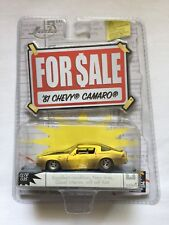 Jada Toys For Sale Series '81 1981 Chevy Camaro Yellow Die-Cast 1/64 Scale Rare!