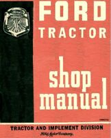 Ford Tractor 600 601 700 701 800 801 900 901 1801 Shop Service Repair Manual CD